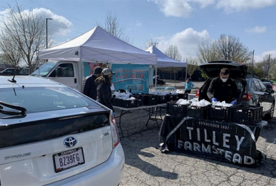 Farmers Markets Switch to Drive-Thru