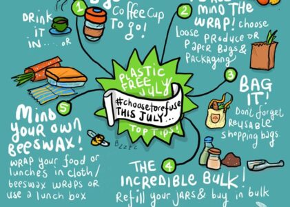 It's Plastic Free July: What you can do to go plastic free?